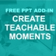 Image create teachable moments